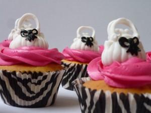 Detail handtas cupcakes